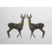 Orwell & Goode Twin Deer Print