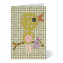 Petra Boase Baby Bird Greeting Card