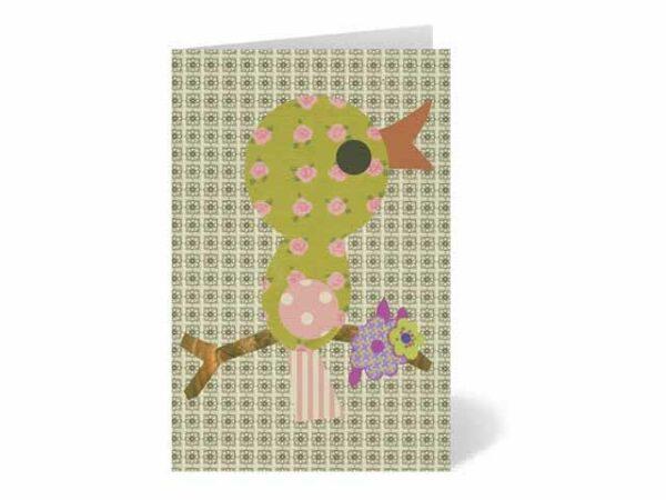 Petra Boase Baby Bird Greeting Card