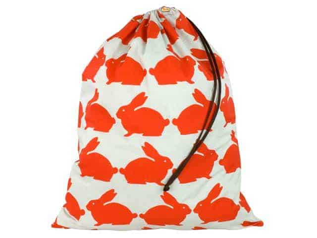 Kissing Rabbits Laundry Bag