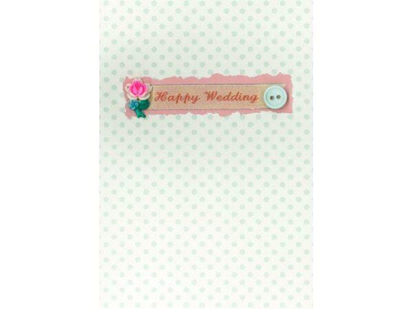 Petra Boase Happy Wedding Wedding Greetings Card