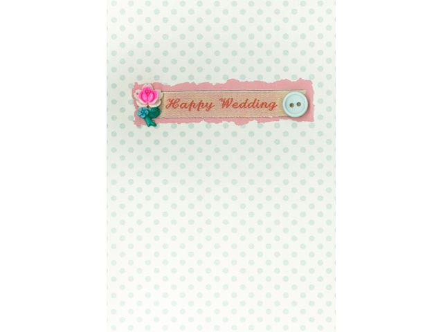 Petra Boase Happy Wedding Wedding Greetings Card