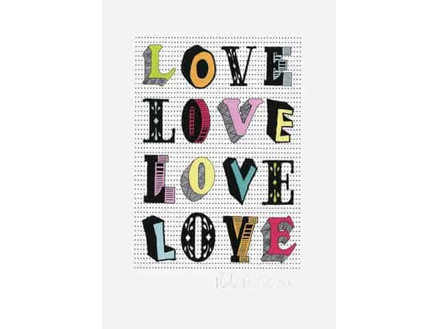Petra Boase LOVE LOVE Wall Print A4