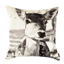My Dear Deer Print Cushion