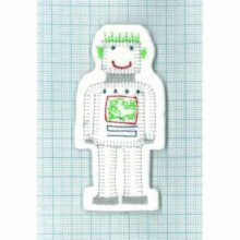 Petra Boase Felt Robot Kids's Greetings Card