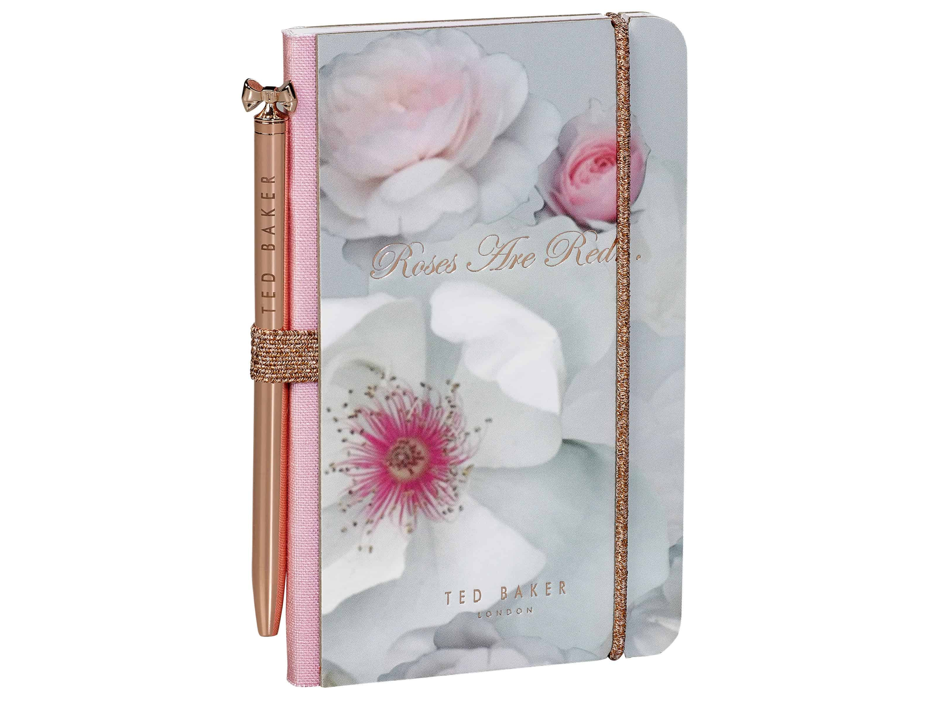 Ted Baker Mini Notebook Chelsea Border