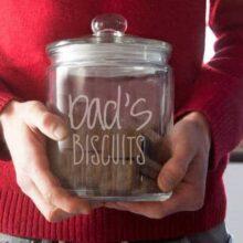 Personalised Biscuit Jar