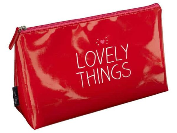 Happy Jackson Lovely Things Red Wash Bag
