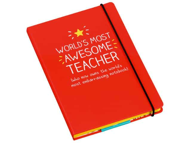 Happy Jackson Awesome Teacher Notebook A5