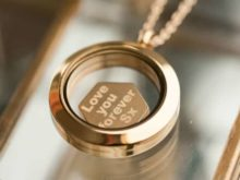 Personalised Floating Locket