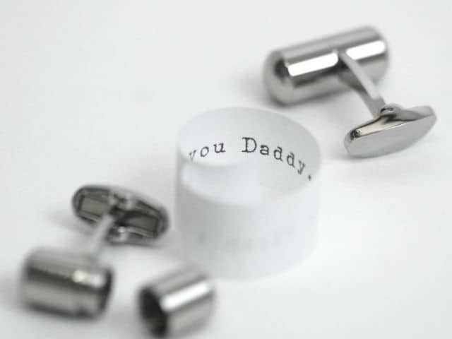 Secret Message Deluxe Cufflinks