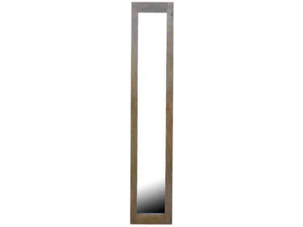 Rectangular Framed Wooden Full Length Wall Mirror