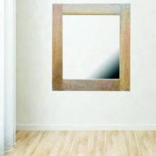 Mango Wood Square Mirror