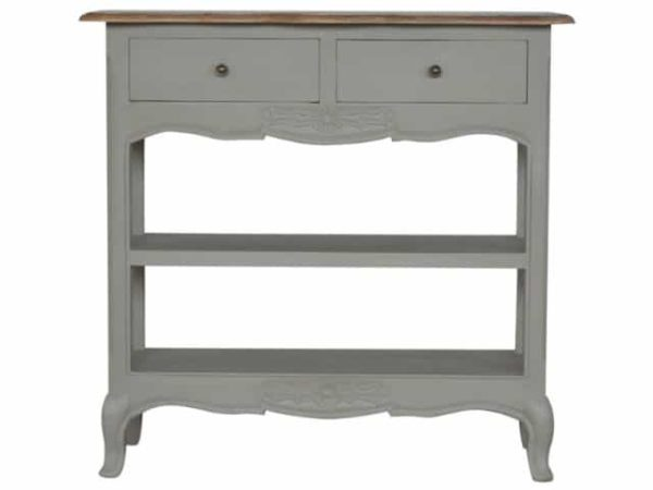 2 Drawer French Style Painted Console Table