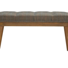 Tweed Scandinavian Design Bench