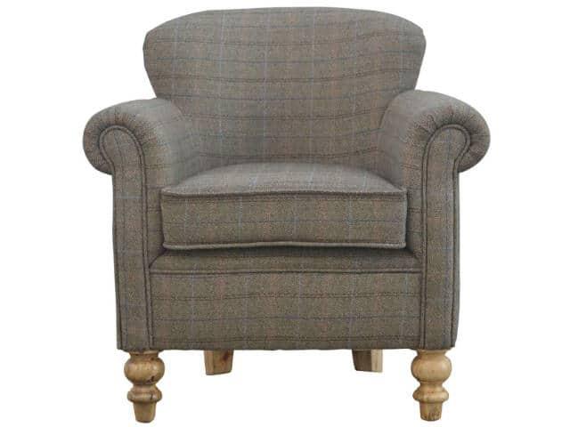 Multi Tweed Armchair