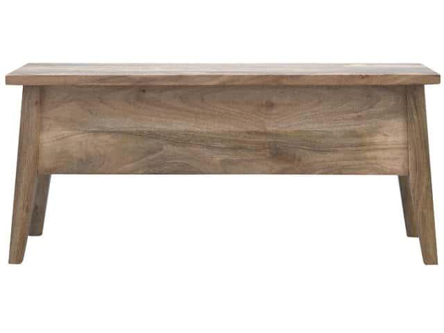 solid wood nordic lid up indoor storage bench artisan hand made. Black Bedroom Furniture Sets. Home Design Ideas