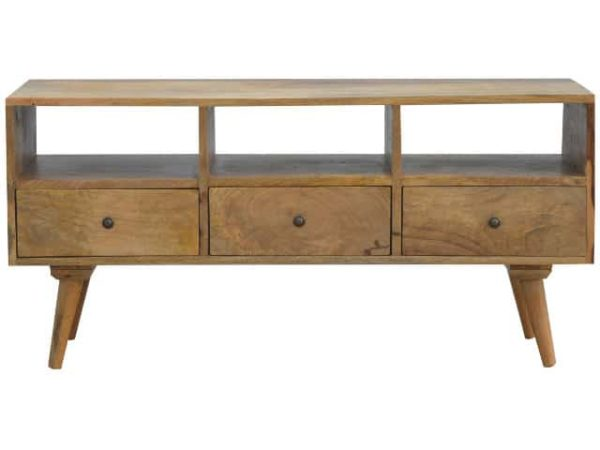 Solid Wood Nordic TV Stand