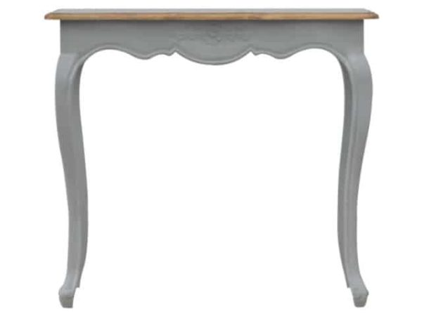 Solid Wood French Styled Painted Console Table