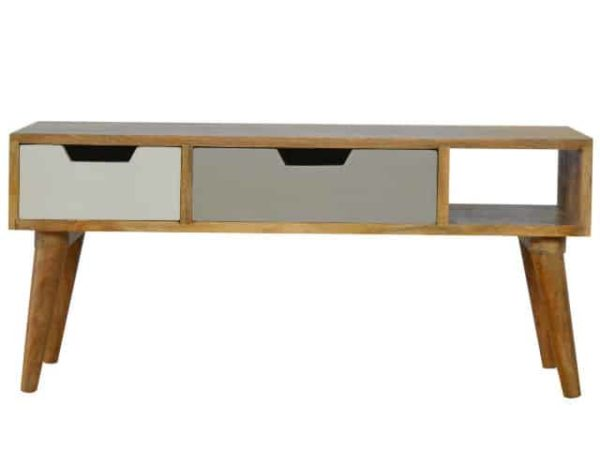 Nordic Style Painted TV Media Unit