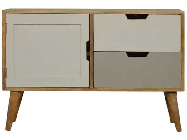 Nordic Style Painted Grey Media Unit