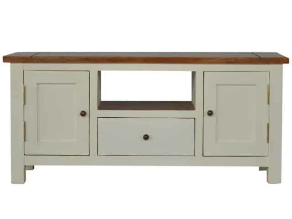 Two Tone Painted TV Unit