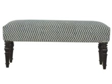 Durrie Cotton and Jute Upholstered Bedroom Bench