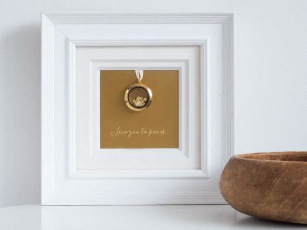 Love You To Pieces Romantic Gift Frame