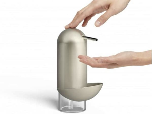 Umbra Penguin Caddy Soap Pump Nickel