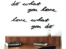 Umbra Mantra Wall Decor Black