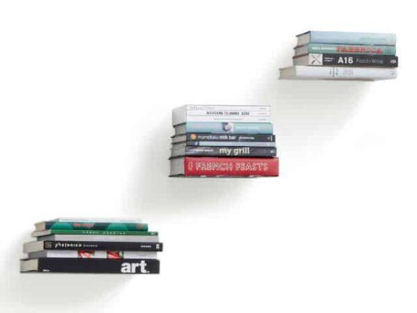 Umbra Conceal Floating Shelves Small Silver - Set of 3