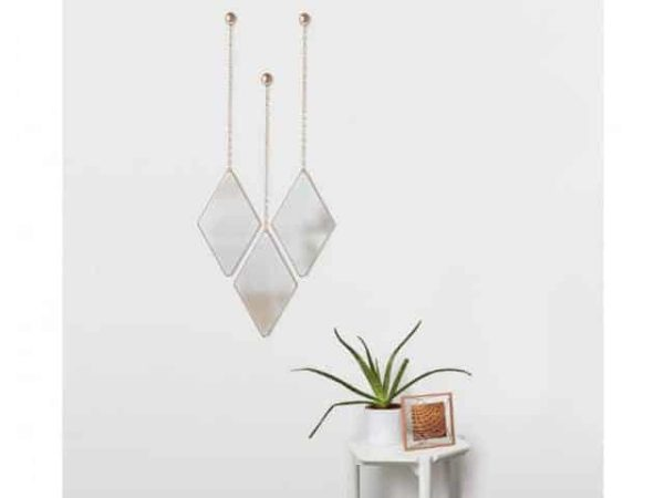 Umbra Dima Copper Mirror 3 Set