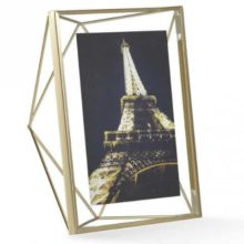 Umbra Prisma Matte Brass Photo Display 13x18cm 5x7