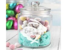 Easter Treats Storage Glass Jar