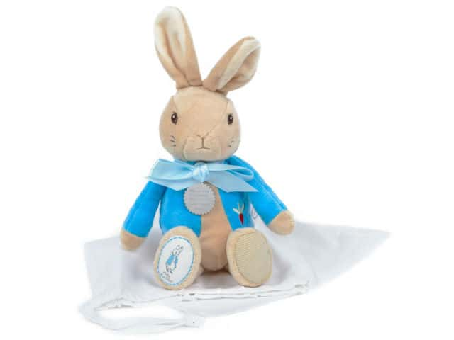 My First Peter Rabbit Soft Toy New Baby Christening