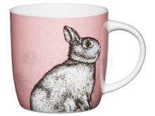 Woodland Collection rabbit barrel mug