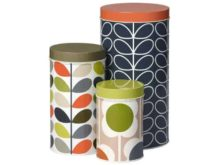 Orla Kiely Storage Tins Set of 3