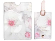 Ted Baker Luggage Tag and Passport Cover Set
