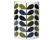 Ceramic Orla Kiely Utensils Pot Ceramic Khaki Marine
