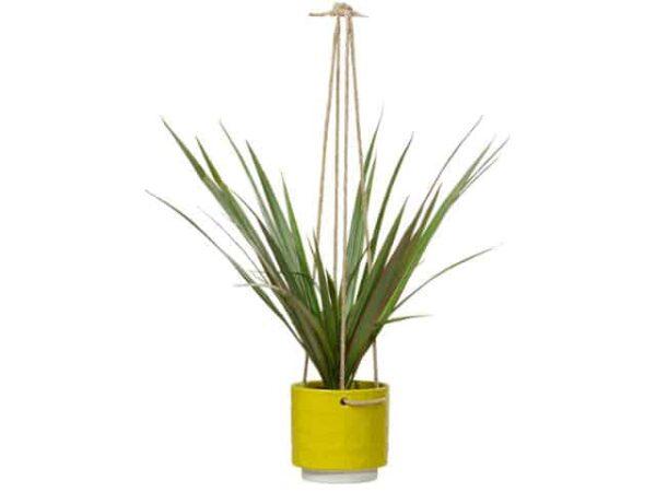 Orla Kiely Ceramic Hanging Plant Pot Dandelion 60s Stem