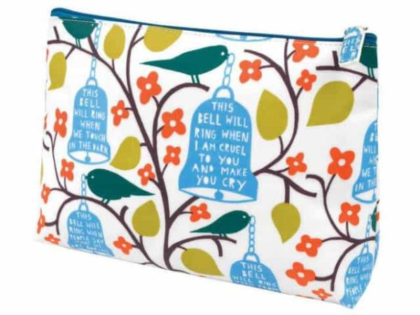 Rob Ryan Oilcloth Cosmetic Pouch