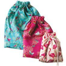 Sara Miller Silk Travel Bag Set of 3