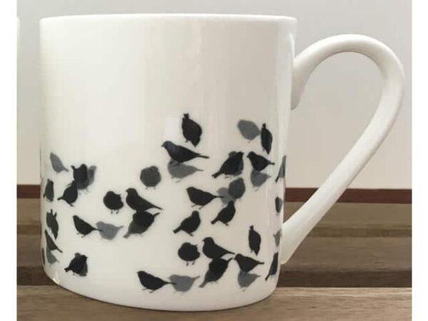 Sandra Vick Chaffinch Bone China Pint Mug