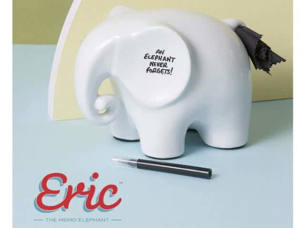 Luckies of London Eric the Memo Elephant