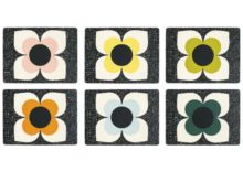 Orla Kiely Multi Stem Teatowel Set of 2 Slate