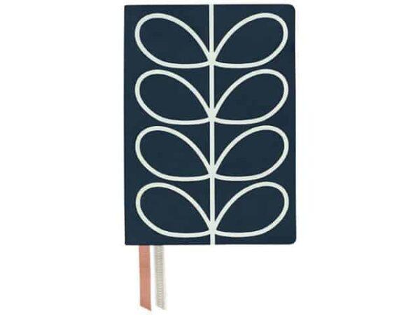 Orla Kiely A5 Notebook Linear Stem