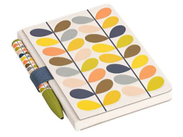 Orla Kiely Multi Stem Pocket Notebook and Pen Set Main