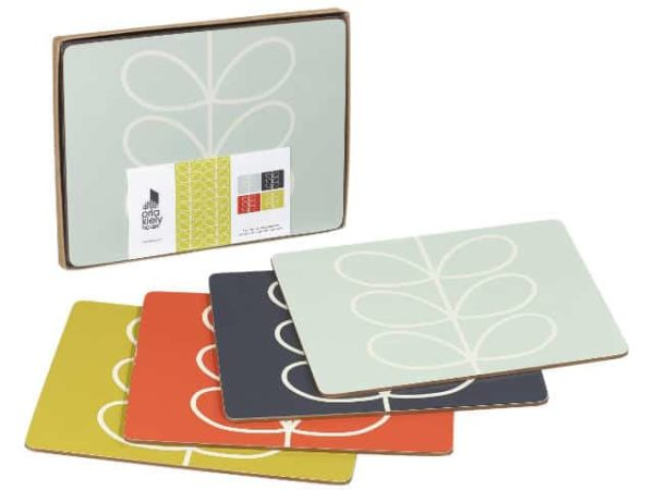 Orla Kiely Placemats Linear Stem Main