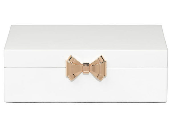 Ted Baker Medium White Jewellery Box
