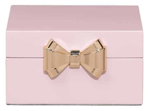 Ted Baker Small Pink Jewellery Box